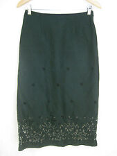 Collette Dinnigan Size XS and 8 Black Formal Skirt