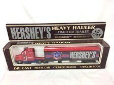 HERSHEY'S HEAVY HAULER TRACTOR TRAILER DIE CAST TRUCK