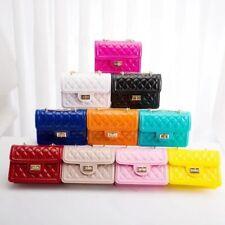 NEW Women Fashion Jelly Shoulder Classic Crossbody Hand Bag Purse *FREE SHIP*