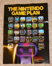 Original Nintendo NES 8 Bit Rob the Robot Poster / Game Insert