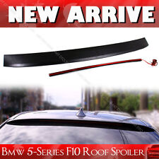 BMW 5-Series F10 Saloon 4DR Unpainted Visor Spoiler Wing With LED Light