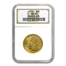 $10 Indian Gold Eagle MS-65 NGC (Random) - SKU #72101