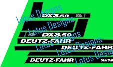 deutz fahr DX3.50 stickers / decals