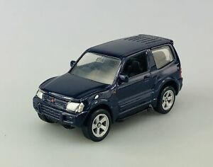 WELLY MITSUBISHI PAJERO RED 1:60 DIE CAST METAL MODEL NEW IN BOX
