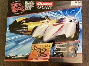 Speed Racer Carrera Go!!! 1:43 Scale Slot Racing System In Box AS IS