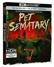 Pet Sematary 30th Anniversary Edition 4k Mastering Blu-ray Digital