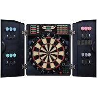 Arachnid EBR1000 E-Bristle 1000 LED Electronic Scoring Dartboard Cabinet Set