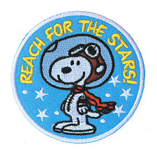 Snoopy Peanuts Reach For The Stars! Superbeagle High-Quality Patch Iron On