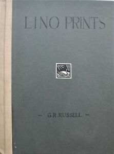Geoffrey Robert Russell - an important collection of 10 woodblock prints 1930s