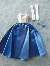 Vintage Barbie - Barbie's 1965 HTF Gown for Midnight Blue NM #1617!!!