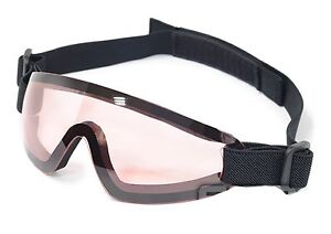 Red Paintball Airsoft Low Profile Eyewear Goggles Eye protection For Mask F798
