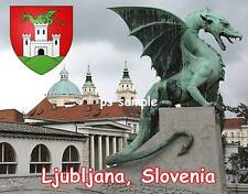 Slovenia - LJUBLJANA - Fridge Magnet