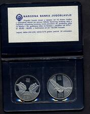 YUGOSLAVIA Set 2 x 10 DINARA 1983 Battle Neretva/Sutjeska Proof