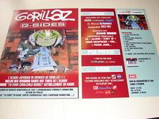 GORILLAZ !!! G-SIDES!!!!!!!RARE FRENCH PRESS/KIT