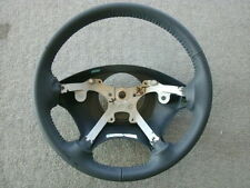 Town & Country Grand Caravan dark navy blue leather steering wheel