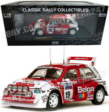 MG Metro 6R4 #19 M.Duez/W.Lux RAC Rally 1986 Limited Edition 1:18 Diecast Model