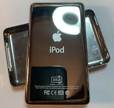 Thin Back Case Cover Housing for iPod Classic Video 5th,6th&7th gen 30gb Chrome