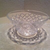 "Waterford Crystal 5 1/4""  Nut or Candy Bowl EUC"