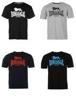 LONSDALE T-Shirt big Logo 4 Farben schwarz grau dunkelblau S M L XL XXL NEU