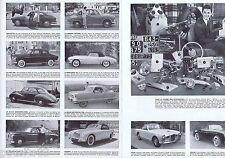 COUPURE DE PRESSE CLIPPING 1954 Le salon de l'Automobile (8 pages)