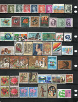 Australian stamp collection. 51 stamps.Free postage Australia. Au2