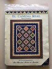 El Camino Real Quilting Block-of-the-Month Set of 13 Kits Patterns Only