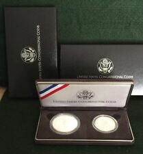 1989 S US Congressional Commemorative Proof 2-Coin Set with Box and COA