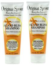 2X ORIGINAL SPROUT Island Bliss Shampoo 8 oz
