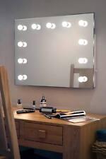 Diamond x Wallmount Hollywood per trucco Specchio con luce DIURNA LED regolabile k95CW
