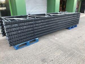 Link51 Medium Duty Shelving Racking Frames 4950mm X 1100mm Brand New