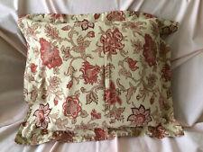 Pottery Barn Tascha Palampore Euro Pillow Sham