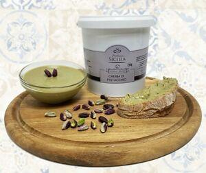 Nutella Crema di Pistacchio 40% da 1kg ideale per Farcire Dolci o Spalmabile al