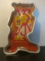 Vintage Wilton Pink Panther Cake Pan 1977 Never Used Aluminum Classic Americana