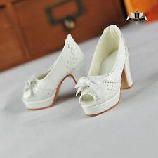 1/3 BJD Shoes Dollfie EID MID DOD SOOM AOD DZ sandals Shoes SD White High heeled