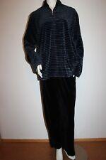 """Triumph Freizeitanzug """"Trophy 10354 LS"""" Gr. 50 schwarz blau Streifen Loungewear"""