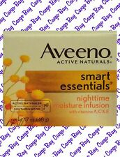 Aveeno Active Naturals Smart Essentials Nighttime Moisture Infusion Vitamin A C