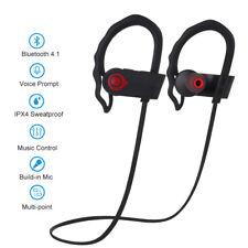 Uten Wasserdicht Bluetooth Kopfhörer Headset Stereo BT Sport Ohrhörer In Ear