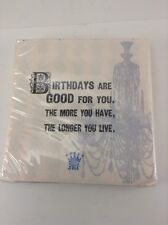 JKC Cocktail Napkins Birthdays Are Good For You 20 Funny