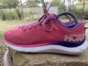 Hoka One One Hupana 2 Women's Athletic Running Shoes Pink/Purple Size 8.5