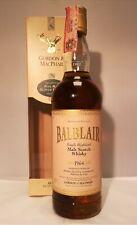 BALBLAIR 1964 GORDON & MACPHAIL HIGHLAND SINGLE MALT SCOTCH WHISKY VINTAGE 90'S