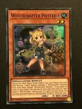 Yugioh: Witchcrafter Potterie INCH-EN014 - Super Rare - 1st Edition