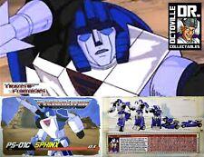 Transformers Masterpiece Mastermind Creations Sphinx PS-01C Cel / MP Mirage MISB