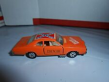RARE VTG YATMING DIXIE SPECIAL DUKES OF HAZZARD GENERAL LEE STYLE CAR HONG KONG
