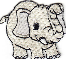 ANIMALS/BABY ELEPHANT- Iron On Embroidered Applique/Children, Zoo Animal,Babies