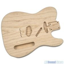HOSCO 1-PIECE Sanded SWAMP ASH '62 Telecaster Tele Body 60's Style Made in Japan