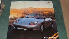 Gama de Porsche Folleto/Boxter Poster - 1997-como Nuevo