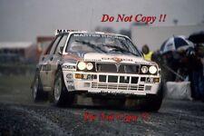 Andrea Aghini Martini Lancia Delta Integrale RAC Rally 1992 Photograph 1