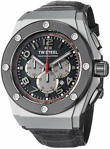 TW Steel Men's CE4002 CEO Tech Chronograph Sport Watch GRAY David Coulthard NEW!