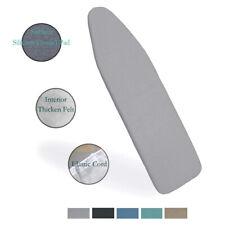 "Duwee 15""x54"" Ironing Board Cover Felt Pad Heat Resistant Metallic Elastic Cord"