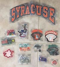 Lot of 36+ LEXTRA Iron On Patches LA KINGS JETS BRONCOS SYRACUSE DISNEY NEW